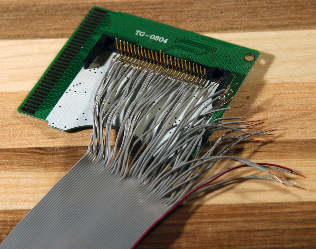 Weblog Blog Archive Ide To Nds Connection Ribbon Cable Schematic Gbamp Bottom Row Done